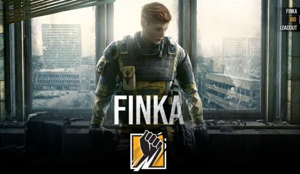 【R6S】FINKAの使い方、立ち回り方と性能について!おすすめな装備の組み合わせを紹介!【新オペレーター】