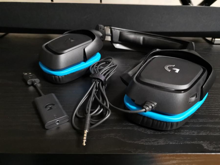【レビュー記事】G431 サラウンド機能で聴き取りやすい !コスパに優れたPC向けヘッドセット!【ロジクール】