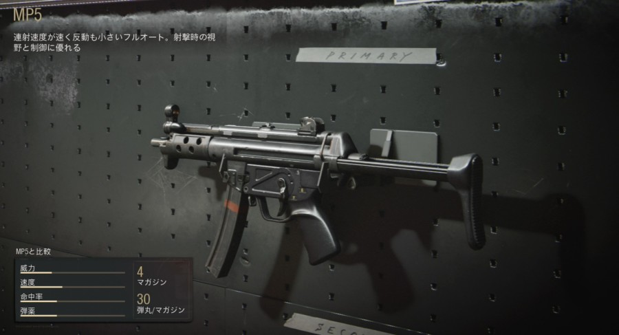 【COD:BOCW】MP5 性能とおすすめのアタッチメント、立ち回りについて!【SMG】