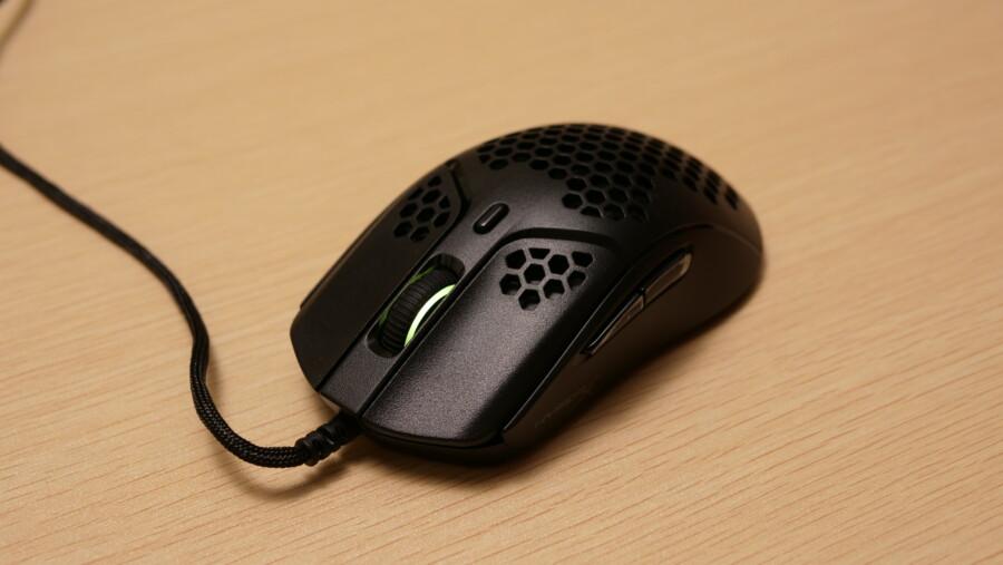 【レビュー】HyperX Pulsefire Haste 良かった点と気になった点!コスパ最強の超軽量マウス!